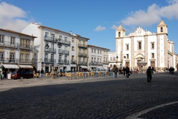 Evora's main square